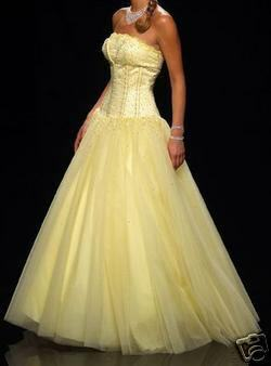 Wedding By Designs Light Yellow Wedding Dress